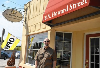 Aberdeen Museum Director Paul Ciesla is unsure of what will become of the museum at 18 N. Howard St. in Aberdeen.