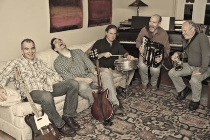The Stone Hill All-Stars' blend of cajun-flavored polka lies somewhere between Ry Cooder, Los Lobos, and The Pogues--plus polka.