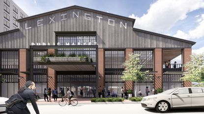 Seawall Development, hired by the city to rethink Lexington Market, envisions a traditional shed-style building that salutes the market's long history.