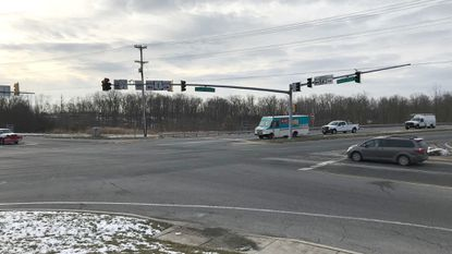 Residents who live along Route 543 in the Hickory area oppose a planned 72-unit apartment complex at the intersection with Route 1, citing more traffic that will add to the congestion already there.