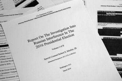 Mueller report reveals President Trump's efforts to thwart Russia investigation