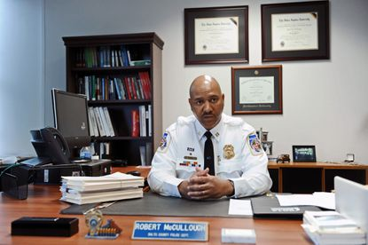 Newly promoted Capt. Robert McCullough talks about the Baltimore County Police Department's efforts to diversify its top command.