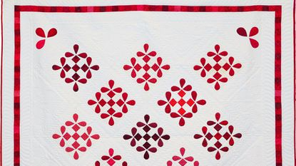 Friendship Honey Bee Quilt, created by the Carroll Lutheran Village quilters, is being raffled off.