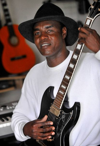 Sokoja Kondorka lives in Northeast Baltimore, the city he resettled to 10 months ago after years in a refugee camp and a long journey through Chad, Libya and Egypt. He'll perform at the World Refugee Day celebration.