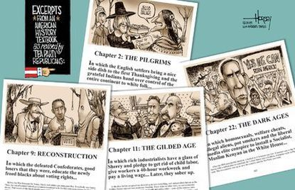The tea party's historical fiction