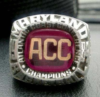 Pete Holbert's ACC championship ring, which has been missing for some time, from some year that has not been provided,and has been found somehow.