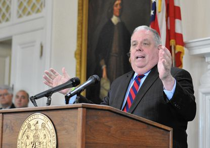 Hogan and Maryland lawmakers might not get along, but they're working