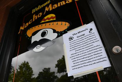 Nacho Mama's on the Canton Square has temporarily closed their restaurant to test their employees for COVID-19 and to deep clean their establishment. Several restaurants in Canton have had their employees test positive for COVID-19 and have had to close.