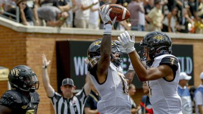 Redshirt junior running back Shane Simpson (center) could be the catalyst for the No. 17 Towson football team against William & Mary's conference-worst run defense in Saturday's Colonial Athletic Association matchup at 4 p.m. at Johnny Unitas Stadium.