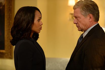 When Michael gets himself in a bad situation, Olivia and her team put pressure on Cyrus to move up the wedding.