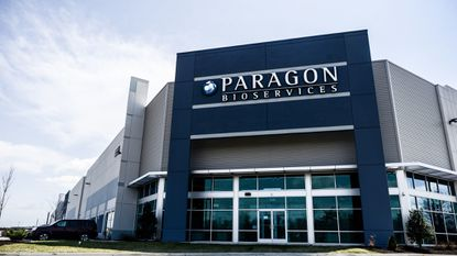 Paragon Bioservices just opened a new manufacturing facility near Baltimore-Washington International Airport where it expects to eventually employ more than 200 people.