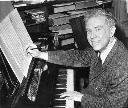 Composer Elliott Carter in 1960.