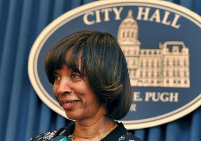 """Baltimore City Mayor Catherine Pugh: """"We recognize that there are neighborhoods that have been neglected for decades."""""""
