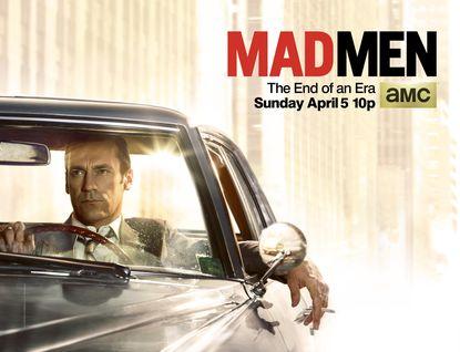 Jon Hamm as Don Draper in Mad Men.