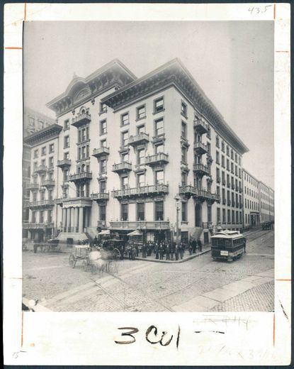 Charles Dickens stayed at a Baltimore hotel at Calvert and Fayette streets, and spoke most fondly about his time there. Which one was it?