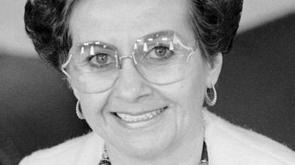 Joyce Lyons Terhes in 1988. The former Maryland Republican Party chair died Wednesday.