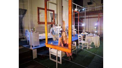 "Britt Olsen-Ecker and Sophie Hinderberger in ""Stranger Kindness"""