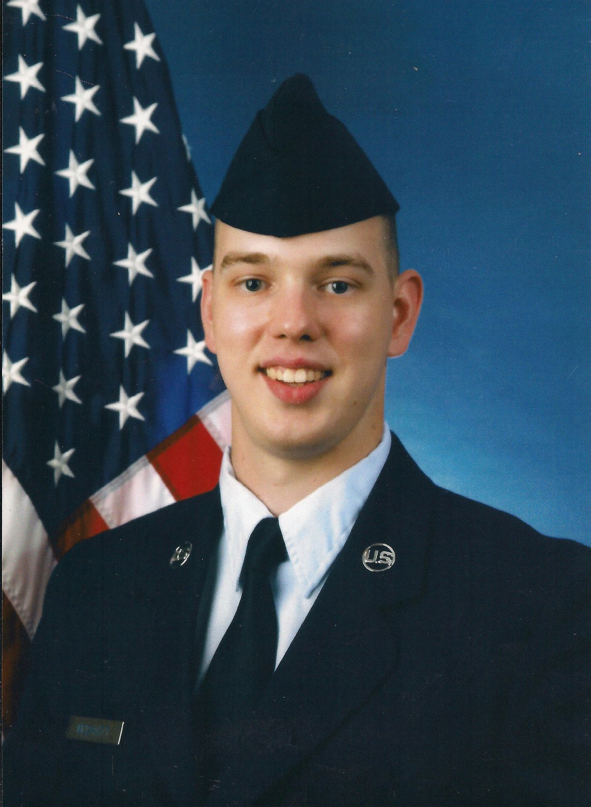 Nathaniel H  McDavitt, airman from Glen Burnie, assured
