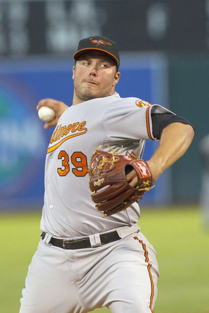 Hunter has strong start in Orioles' 6-2 win over A's