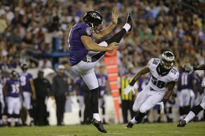 Ravens notebook: Sam Koch wants punt team members to be with him at Pro Bowl