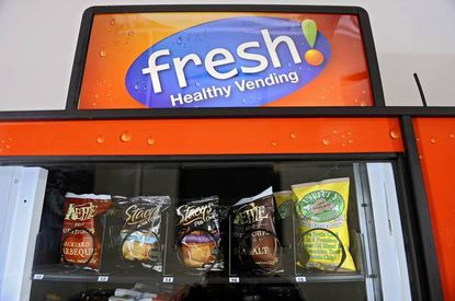 Fresh Healthy Vending machines are in about 20 locations around the region, including the School of Rock, Jewish community centers, and some Baltimore City middle and high schools.