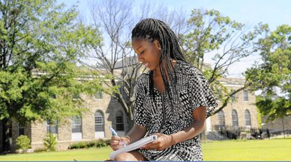 Jasmine White, of New York, transferred to Morgan State University and is an actuarial science major.