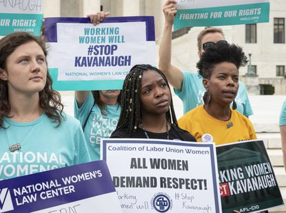Week of protests in D.C. targets Brett Kavanaugh nomination to Supreme Court