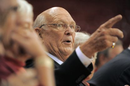 Former Maryland men's basketball head coach Lefty Driesell said he didn't become close with Dean Smith until the two retired from coaching.