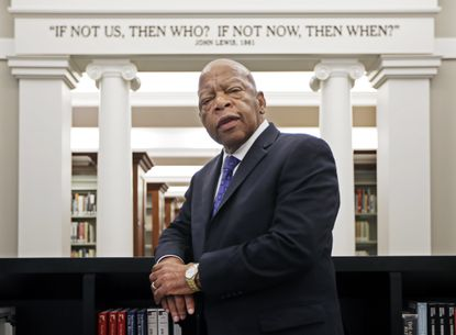 U.S. Rep. John Lewis, D-Ga., announced Sunday that he has stage IV pancreatic cancer, vowing he will stay in office and fight the disease with the tenacity which he fought racial discrimination and other inequalities since the civil rights era.