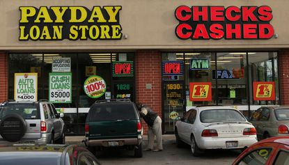 Consumers should be careful about the fees charged by check cashing companies