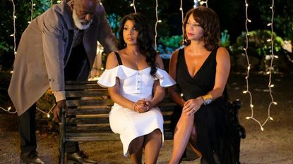 Toni Braxton, center, is nominated for multiple Grammy awards.