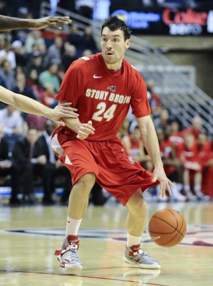 Stony Brook senior Tommy Brenton was named America East Fan's Choice Player of the Year earlier this week.