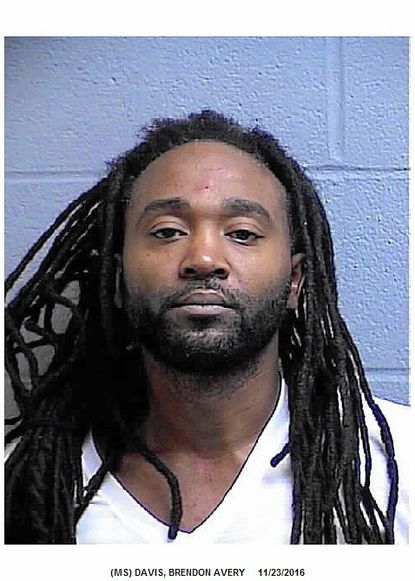 """Brendon Davis was arrested Nov. 23 after allegedly punching a woman and wielding a box cutter-style knife. <a href=""""http://www.carrollcountytimes.com/news/crime/ph-cc-brendon-davis-assault-brief-20161129-story.html"""" target=""""_blank"""">Full story here</a>."""