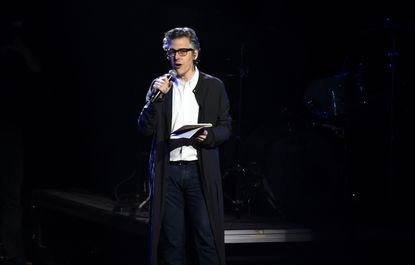 Ira Glass speaks during Contemporary Color, Conceived By David Byrne at Barclays Center of Brooklyn on June 27, 2015 in New York City.