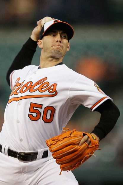 Miguel Gonzalez could come off the disabled list and rejoin the Orioles rotation early next week.