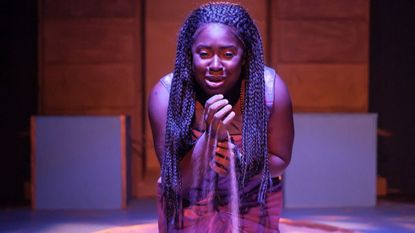 """Awa Sal Secka in the title role of the Elton John/Tim Rice musical """"Aida"""" at ArtsCentric."""