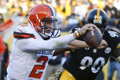 Johnny Manziel named Browns starting quarterback