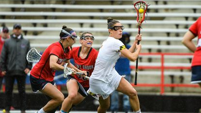 Mount Hebron grad Jen Giles soaking in last dance with Maryland women's lacrosse