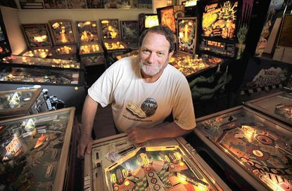 National Pinball Museum owner David Silverman.