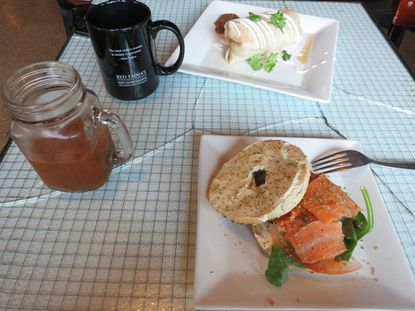 Hangover Helper: Radical bookstore Red Emma's also has a great vegetarian (or vegan) brunch