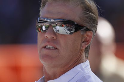Former Broncos quarterback John Elway, shown in 2010, had no interest in playing for the Baltimore Colts.