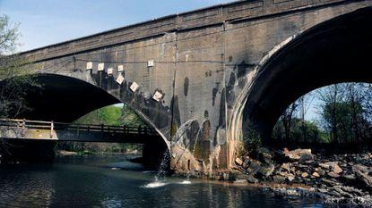 The Harford Road Bridge over Herring Run in Northeast Baltimore will close Monday for the next three years, likely causing major traffic backups, as the city spends $18.9 million to replace the century-old bridge, which has spouted water and crumbled from the bottom.