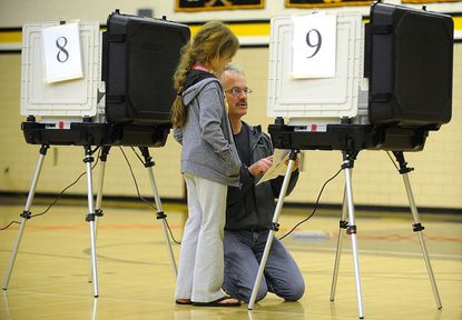 Dismayed voters mean low turnout during Carroll's primary