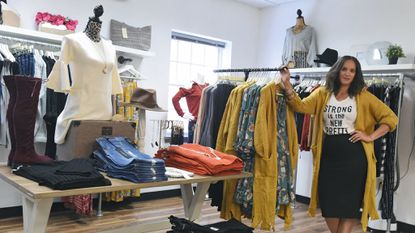 Velvet Trunk, owned by Marissa Drayton-Smalley, has opened a bigger store located at 10 South Main St. in Bel Air.
