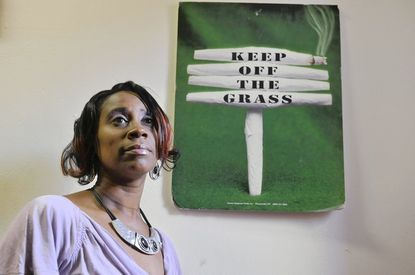 LaTavia Little is executive director of a nonprofit that serves pre-teens and teenagers struggling with or in danger of substance abuse.