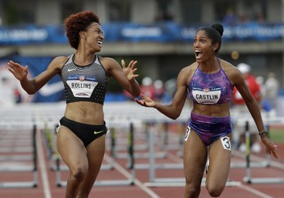 Brianna Rollins leaps to first place in 100-meter hurdles at U.S. trials