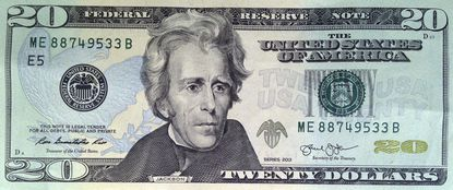 This April 17, 2015, file photo provided by the U.S. Treasury shows the front of the U.S. $20 bill, featuring a likeness of Andrew Jackson, seventh president of the United States. With a change of administrations, it looks like Harriet Tubman is once again headed to the front of the $20 bill. Biden press secretary Jen Psaki said Monday that the Treasury Department is taking steps to resume efforts to put the 19th century abolitionist leader on the $20 bill. Obama administration Treasury Secretary Jack Lew had selected Tubman to replace Andrew Jackson, the nation's seventh president, on the $20 bill. (U.S. Treasury via AP, File)