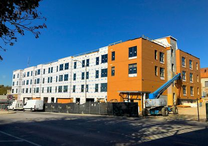 The Walbrook Mill apartments in the 2600 block of W. North Avenue in Baltimore will provide affordable housing for people in Coppin Heights near the Coppin State University campus.
