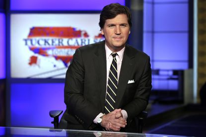 """His chief promises were that he would build the wall, defund Planned Parenthood and repeal Obamacare, and he hasn't done any of those things,"" Tucker Carlson said in an interview, adding that those goals were probably lost causes."