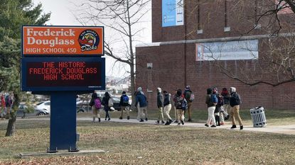 Among recent incidents of Baltimore students allegedly assaulting teachers or school staff was one at Frederick Douglass High School, where a video showed a student hitting a teacher in the face.